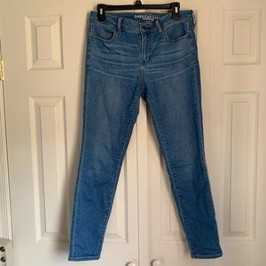 American Eagle Super Stretch Jeggings Size 10